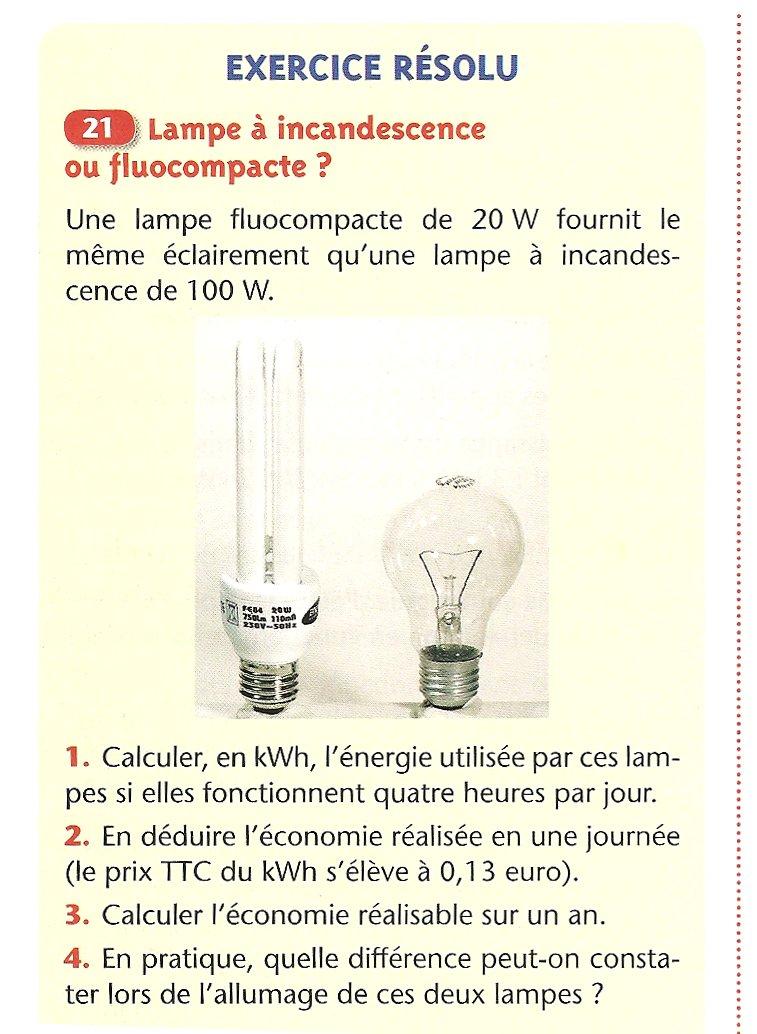 Cours De Sciences Physiques Troisieme Chapitre 7 L Energie